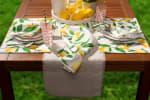 Lemon Bliss Print Outdoor  Placemat (Set of 6) - 1
