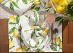 Lemon Bliss Print Outdoor  Placemat (Set of 6) - 5