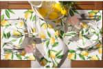 Lemon Bliss Print Outdoor  Placemat (Set of 6) - 7