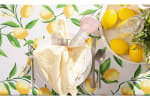 Lemon Bliss Print Outdoor Tablecloth 60 Round - 1