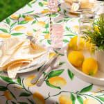 Lemon Bliss Print Outdoor Tablecloth 60x120 - 4