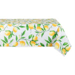 Lemon Bliss Print Outdoor Tablecloth 60x84 - 2