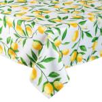 Lemon Bliss Print Outdoor Tablecloth 60x84 - 3