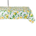 Lemon Bliss Print Outdoor Tablecloth With Zipper 60x84 - 2