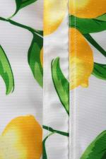 Lemon Bliss Print Outdoor Tablecloth With Zipper 60x84 - 5