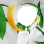 Lemon Bliss Print Outdoor Tablecloth With Zipper 60x84 - 7