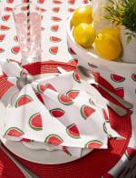 Watermelon Print Outdoor Tablecloth 60x120 - 4