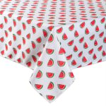 Watermelon Print Outdoor Tablecloth With Zipper 60x120 - 3