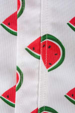 Watermelon Print Outdoor Tablecloth With Zipper 60x120 - 4