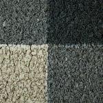Gray & White Buffalo Check  Doormat - 4