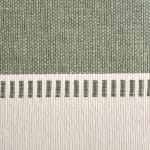 Artichoke Green Dobby Stripe Table Runner 13x72 - 5