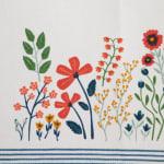 Flower Garden Embellished Table Runner 14x72 - 4