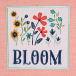 """Flower Garden Ktichen Dishtowels, 18x28"""", Set of 4 - 8"""
