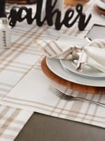 """Stone Home Sweet Farmhouse Placemats, 13x19"""", Set of 6 - 5"""