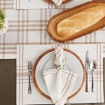 """Stone Home Sweet Farmhouse Placemats, 13x19"""", Set of 6 - 9"""