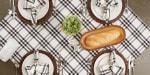 Homestead Plaid Tablecloth 60x120 - 5