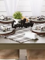 Homestead Plaid Tablecloth 60x120 - 6