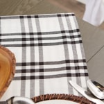 "Homestead Plaid Tablecloth, 70"" Round - 4"
