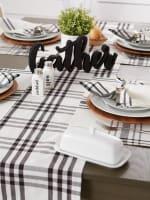 Homestead Plaid Table Runner 14x108 - 4