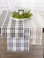 Homestead Plaid Table Runner 14x108 - 6