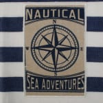 """Maritime Spread Kitchen Towels, 18x28"""", Set of 3 - 6"""