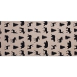 Mountain Trail Plaid Reversible Embellished Table Runner 14x72 - 5