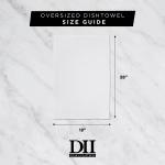 """Washed Waffle Woven Dishtowel Set, 18x28"""", Wild Dove, 2 Pieces - 3"""
