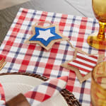 American Plaid Table Topper 40x40 - 3