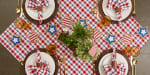 American Plaid Table Topper 40x40 - 5