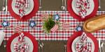 American Plaid Table Runner 14x72 - 5
