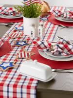 American Plaid Table Runner 14x108 - 1