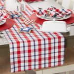 American Plaid Table Runner 14x108 - 5