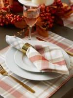 Thanksgiving Cozy Picnic, Plaid Napkin Set - 1
