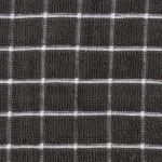 Mineral Gray Combo Windowpane Dishcloth (Set of 6) - 7