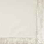 Cream Velvet Trimmed Napkin (Set of 4) - 3