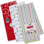 Merry & Bright 3 Piece Set Dishtowel - 1