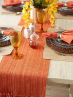 Spice Fringe Table Runner - 2