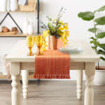 Spice Fringe Table Runner - 3