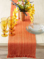 Spice Fringe Table Runner - 6