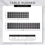 Tango Red Fringe Table Runner - 9