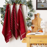 Redwood Harvest Embellished Dishtowel Set/3 - 1