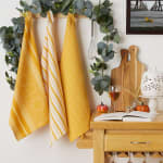 Burnt Apricot Sonoma Harvest Dishtowel Set/3 - 1