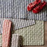 Mineral  Recycled Cotton Loop Gray Rug - 9