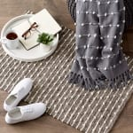 Stone Recycled Cotton Loop Rug - 7
