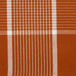 Fiesta Rust Check Set of 6 Placemats - 7