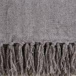 Soft Gray Chenille Throw - 6