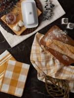 Asst Honey Gold Everyday Set of 5 Dishtowels - 9
