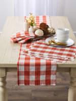 Buffalo Check Vintage Red Napkin Set of 6 - 5