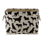 Dog Show Polyester Rectangle Small Pet Storage Bin - 3