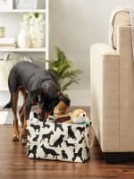 Dog Show Polyester Rectangle Small Pet Storage Bin - 9